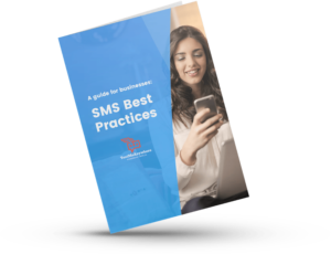 Business text messaging best practices whitepaper cover